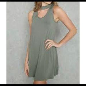 🌿Last Chance!🌿 Forever 21 Choker Dress Sz S